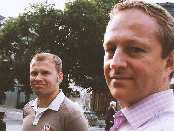 History with Daniel and Jochen