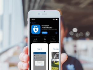 Microsoft Authenticator App Mockup